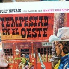 Fumetti: TEMPESTAD EN EL OESTE. BLUEBERRY. BRUGUERA. Lote 196053111
