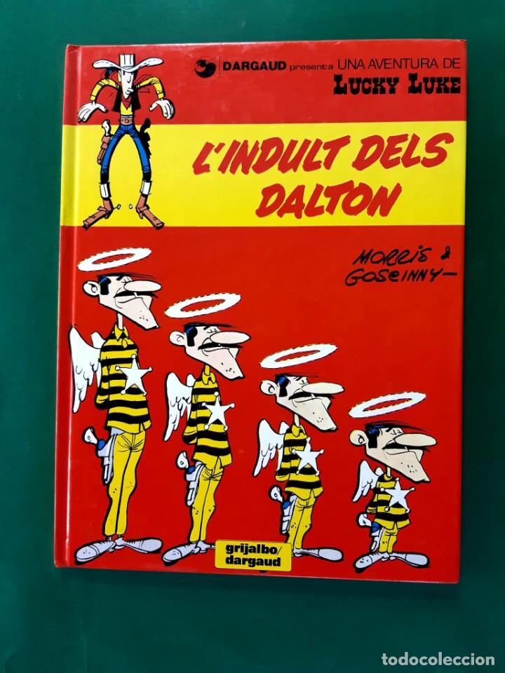 LUCKY LUCKE Nº 13 L'ÍNDULT DELS DALTON 1ªEDICION CATALAN 1992 IMPECABLE ESTADO (Tebeos y Comics - Grijalbo - Lucky Luke)