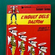 Cómics: LUCKY LUCKE Nº 13 L'ÍNDULT DELS DALTON 1ªEDICION CATALAN 1992 IMPECABLE ESTADO. Lote 196205800