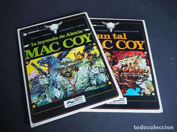 MAC COY. LOTE CON DOS TOMOS. NÚMEROS 1 Y 2. GRIJALBO. TAPA DURA . COLOR. 1978 (Tebeos y Comics - Grijalbo - Mac Coy)