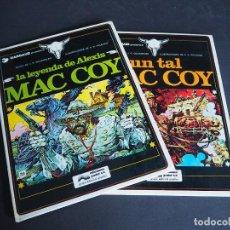 Cómics: MAC COY. LOTE CON DOS TOMOS. NÚMEROS 1 Y 2. GRIJALBO. TAPA DURA . COLOR. 1978. Lote 196211992