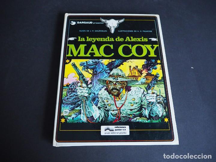 Cómics: Mac coy. lote con dos tomos. Números 1 y 2. Grijalbo. Tapa dura . Color. 1978 - Foto 2 - 196211992