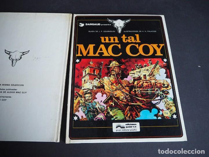 Cómics: Mac coy. lote con dos tomos. Números 1 y 2. Grijalbo. Tapa dura . Color. 1978 - Foto 4 - 196211992