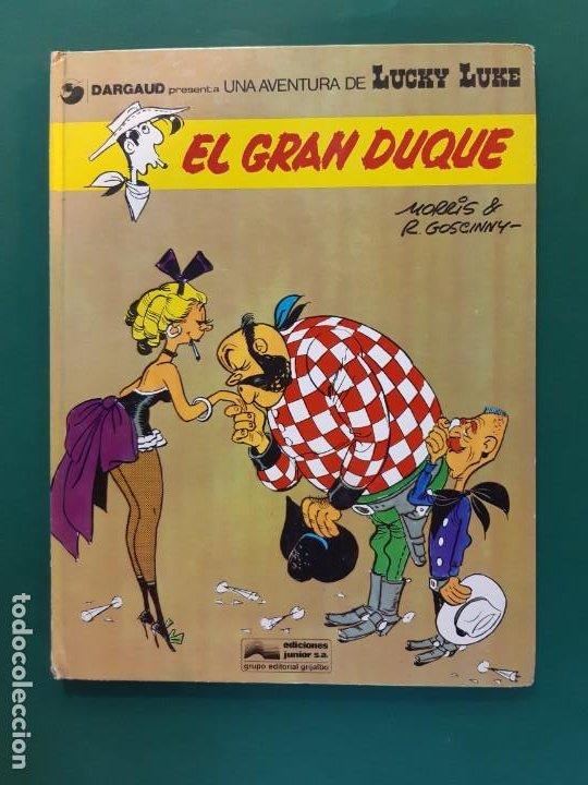 LUCKY LUKE EL GRAN DUQUE 1ª EDICIÓN SIN NUMERAR (Tebeos y Comics - Grijalbo - Lucky Luke)