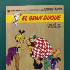 Cómics: LUCKY LUKE EL GRAN DUQUE 1ª EDICIÓN SIN NUMERAR. Lote 196294562