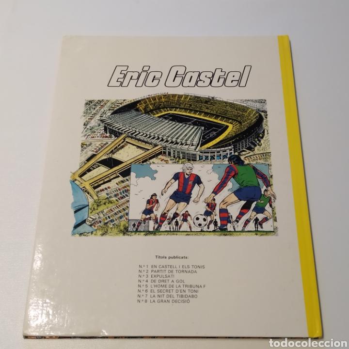 Cómics: Comic de ERIC CASTEL, título LA GRAN DECISIÓ, 1985 Ediciones Júnior - Foto 2 - 196312843
