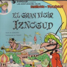 Cómics: LAS AVENTURAS DEL CALIFA HAROUN EL POUSSAH -- Nº 8 EL GRAN VISIR IZNOGUD . Lote 196381703