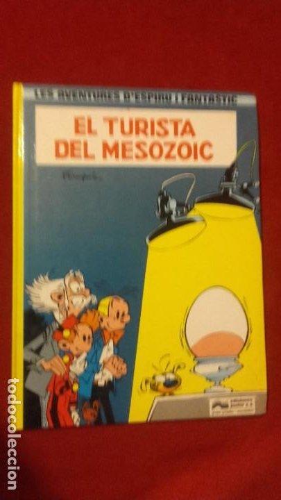 ESPIRU 11 - EL TURISTA DEL MESOZOIC - FRANQUIN - CARTONE - EN CATALAN (Tebeos y Comics - Grijalbo - Spirou)