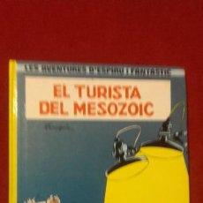 Fumetti: ESPIRU 11 - EL TURISTA DEL MESOZOIC - FRANQUIN - CARTONE - EN CATALAN. Lote 196560322