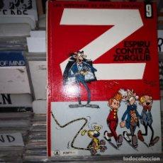 Comics : LAS AVENTURAS DE ESPIRU Y FANTASIO 9: ESPIRU CONTRA ZORGLUB, 1970, JAIMES . Lote 196592911