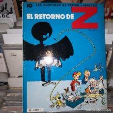 Comics : LAS AVENTURAS DE ESPIROU Y FANTASIO.NUM 10 EL RETORNO DE Z. JAIMES. Lote 196593882