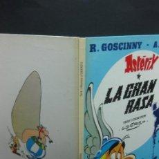 Cómics: ASTERIX. LA GRAN RASA. TEXT I DIBUIXOS: UDERZO. EDICIONES JUNIOR, 1980. . Lote 196646572