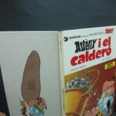 Cómics: ASTERIX. ASTERIX I EL CALDERO. GOSCINNY / UDERZO. GRIJALBO/DARGAUD, 1982. . Lote 196647986