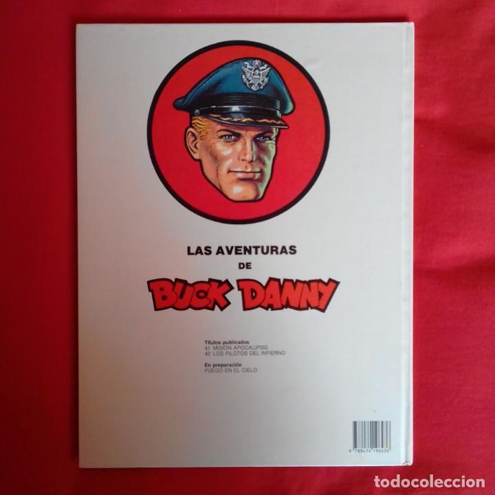 Cómics: LAS AVENTURAS DE BUCK Y DANNY. Nº 42. LOS PILOTOS DEL INFIERNO GRIJALBO - Foto 2 - 196735761