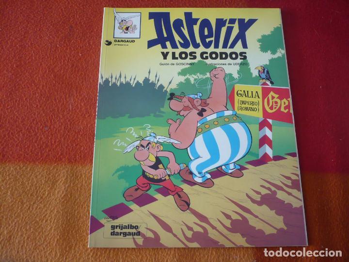 ASTERIX Y LOS GODOS ( GOSCINNY UDERZO ) ¡MUY BUEN ESTADO! TAPA BLANDA GRIJALBO DARGAUD (Tebeos y Comics - Grijalbo - Asterix)