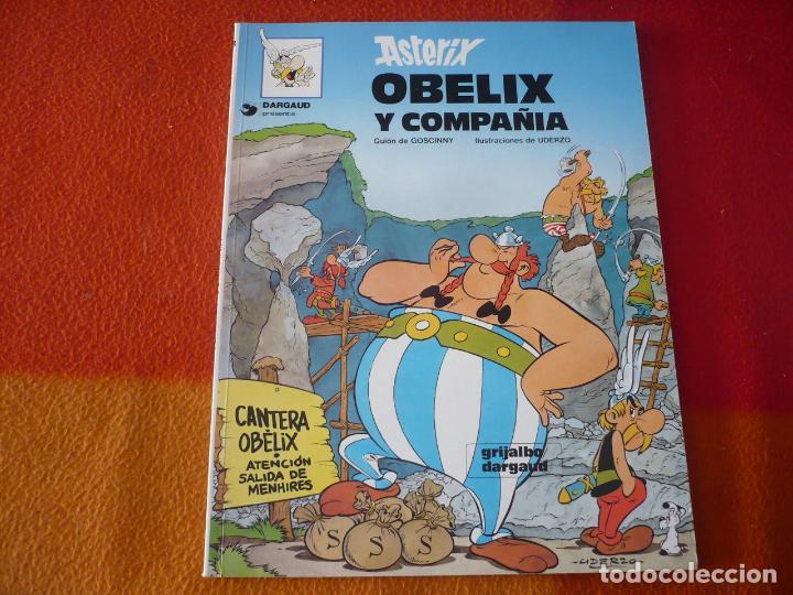 ASTERIX OBELIX Y COMPAÑIA ( GOSCINNY UDERZO ) ¡MUY BUEN ESTADO! TAPA BLANDA GRIJALBO DARGAUD (Tebeos y Comics - Grijalbo - Asterix)