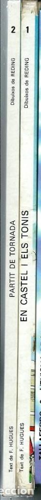 Cómics: ERIC CASTEL Nº 1 - EN CASTEL I ELS TONIS - ED. JUNIOR 1979 1ª EDICIÓ - Foto 2 - 197241527