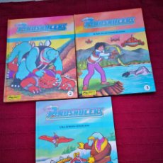 Cómics: COMIC DINOSAUCERS EDICIONES JUNIOR S,A,GRUPO GRIJALBO (2, 3 Y 4). Lote 197257390