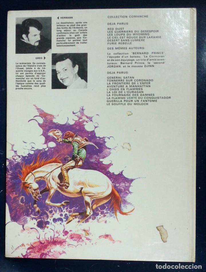 Cómics: Comanche - Les loups de Wyoming- Grijalbo - edición en francés - Foto 2 - 197594955