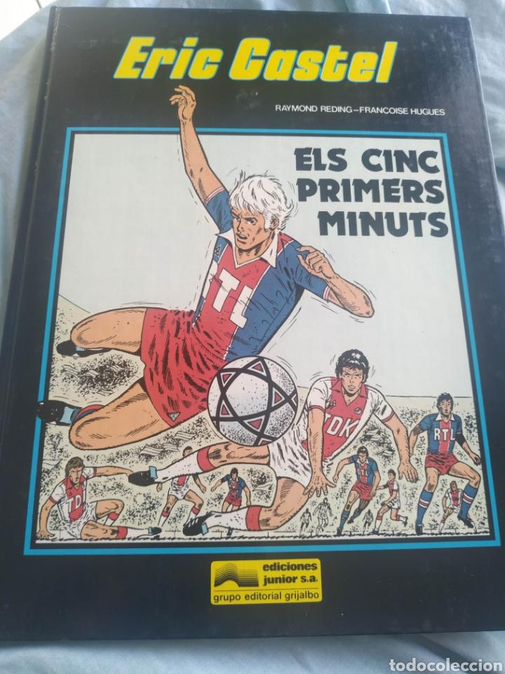 LIBRO COMIC ERIC CASTEL EDICIONES JUNIOR EDITORIAL GRIJALBO 1981 NUM 9 CATALÀ EN CATALAN (Tebeos y Comics - Grijalbo - Eric Castel)