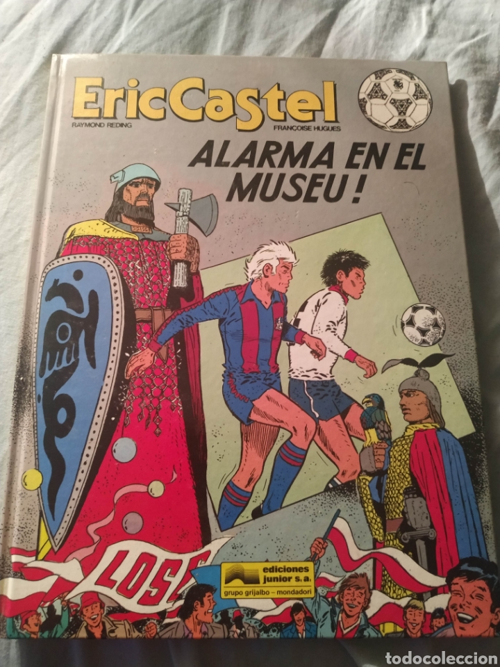 LIBRO COMIC F C BARCELONA ERIC CASTEL EDICIONES JUNIOR EDITORIAL GRIJALBO 1990 N 14 CATALÀ CATALAN (Tebeos y Comics - Grijalbo - Eric Castel)