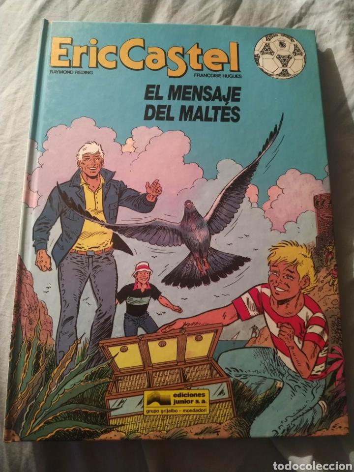LIBRO COMIC F C BARCELONA ERIC CASTEL EDICIONES JUNIOR EDITORIAL GRIJALBO 1992 NUM 15 CASTELLANO (Tebeos y Comics - Grijalbo - Eric Castel)