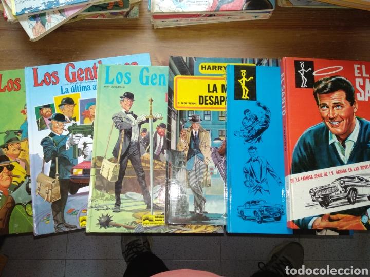 LOTE COMICS LOS GENTLEMEN EL SANTO Y HARRY CHASE (Tebeos y Comics - Grijalbo - Otros)
