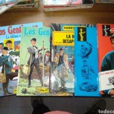 Cómics: LOTE COMICS LOS GENTLEMEN EL SANTO Y HARRY CHASE. Lote 197810200