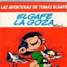 Cómics: LAS AVENTURAS DE TOMAS ELGAFE. Nº 4. ELGAFE LA GOZA. GRIJALBO, 1985. Lote 198021780