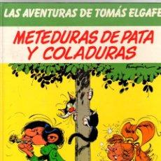 Cómics: LAS AVENTURAS DE TOMAS ELGAFE. Nº 6. METEDURAS DE PATA Y COLADURAS. GRIJALBO, 1991. Lote 198021885