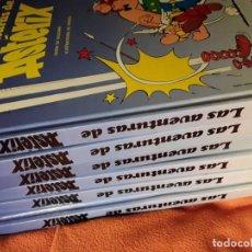 Cómics: LAS AVENTURAS DE ASTERIX (6 TOMOS-24 HISTORIAS). GRIJALGO/DARGAUD 1989.. Lote 198063971