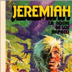 Cómics: JEREMIAH. Nº 1. LA NOCHE DE LOS RAPACES. HERMANN. GRIJALBO, 1980. Lote 198084141