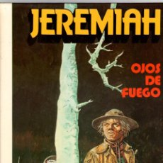 Cómics: JEREMIAH. Nº 4. OJOS DE FUEGO. HERMANN. GRIJALBO, 1981. Lote 198084831