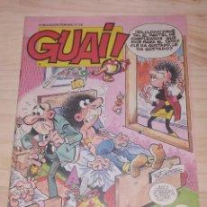Cómics: GUAI! PUBLICACION SEMANAL NUMERO 55. . Lote 198092147
