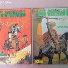 Cómics: LOS GRINGOS EN CASTELLANO Y FRANCES. Lote 198197391