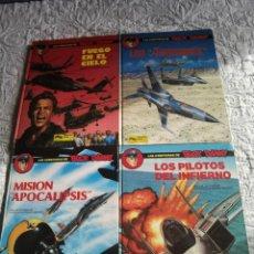Cómics: LAS AVENTURAS DE BUCK DANNY - COLECCION COMPLETA - 4 NUMEROS. Lote 198224001