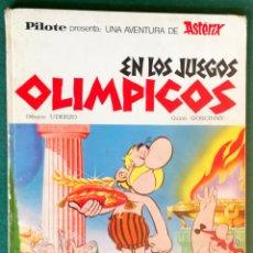 Cómics: ASTÉRIX EN LOS JUEGOS OLÍMPICOS - PILOTE - SIN NÚMERO - CONTRAPORTADA ANTIGUA - BRUGUERA 1ª. Lote 198245577