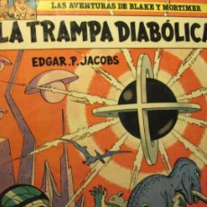 Cómics: BLAKE Y MORTIMER--LA TRAMPA DIABOLICA. Lote 198355475