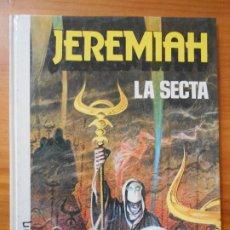 Cómics: JEREMIAH - Nº 6 - LA SECTA - HERMANN - TAPA DURA - GRIJALBO (O1). Lote 198406520