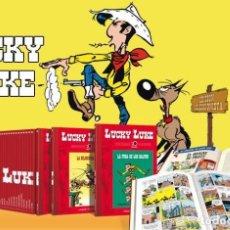 Cómics: LUCKY LUKE COLECCIÓN COMPLETA 100 TÍTULOS EDICIÓN COLECCIONISTA 70 ANIVERSARIO NUEVOS (PRECINTADOS). Lote 198411836
