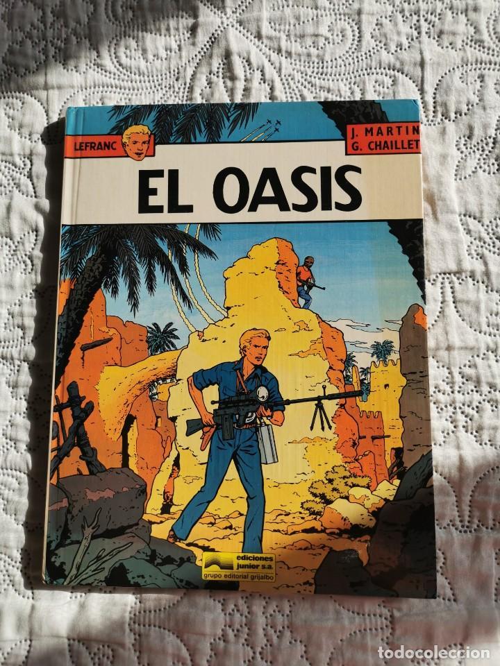 LEFRANC - EL OASIS N.7 (Tebeos y Comics - Grijalbo - Lefranc)