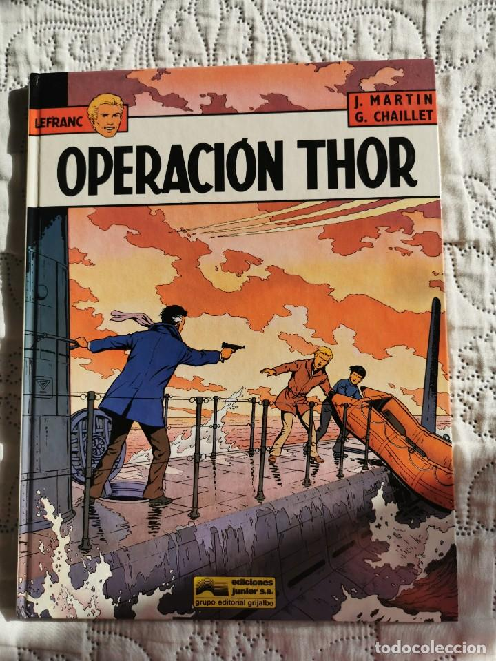 LEFRANC - OPERACION THOR N.6 (Tebeos y Comics - Grijalbo - Lefranc)