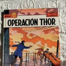 Cómics: LEFRANC - OPERACION THOR N.6. Lote 198505072