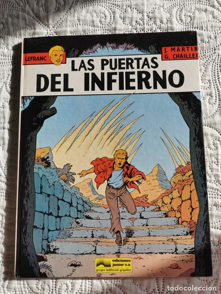 LEFRANC - LAS PUERTAS DEL INFIERNO N.5 (Tebeos y Comics - Grijalbo - Lefranc)