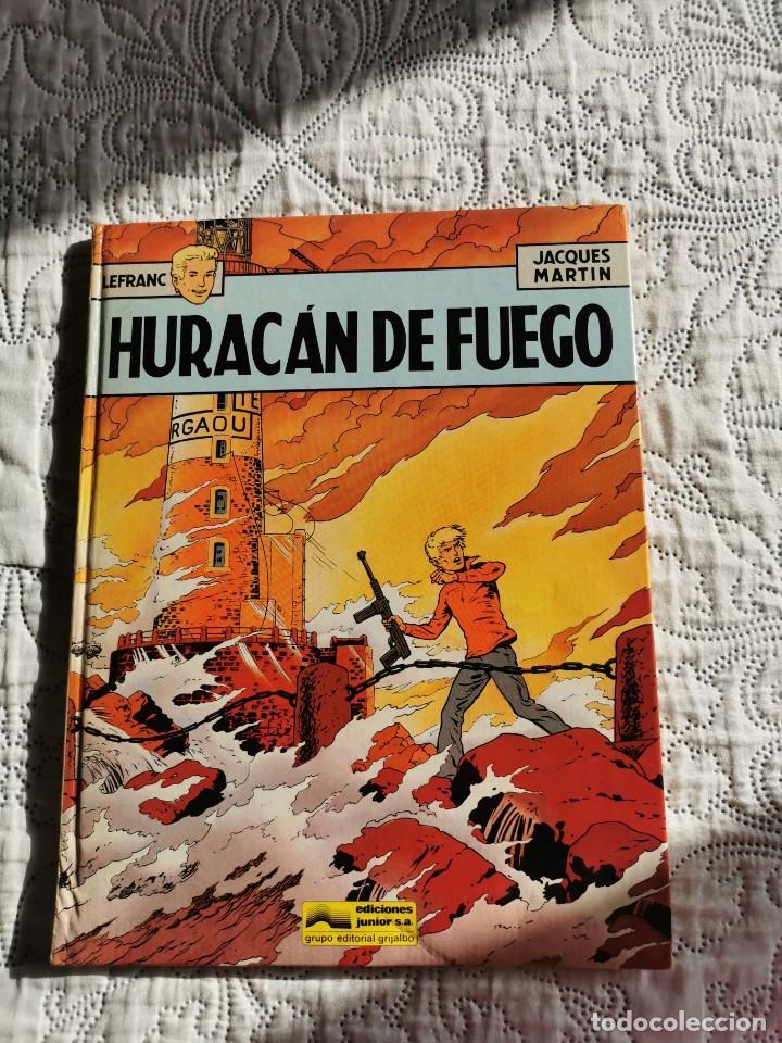 LEFRANC -HURACAN DE FUEGO N.2 (Tebeos y Comics - Grijalbo - Lefranc)