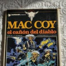 Cómics: MAC COY- EL CAÑON DEL DIABLO N.9. Lote 198526432