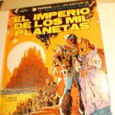 Cómics: DARGAUD. VALERIAN 1. EL IMPERIO DE LOS MIL PLANETAS GRIJALBO 1980 COLOR TAPA DURA (BUEN ESTADO). Lote 198558131