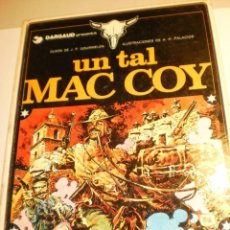 Cómics: DARGAUD GOURMELEN. UN TAL MAC COY. Nº 2 GRIJALBO 1978 COLOR TAPA DURA (ESTADO NORMAL). Lote 198558562