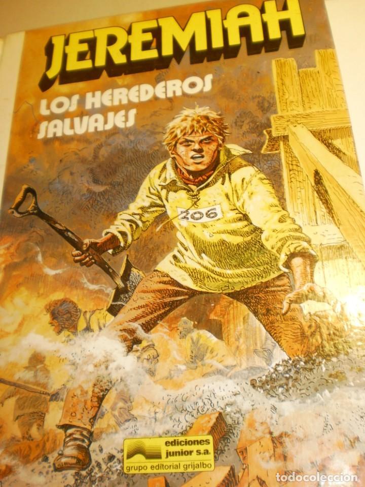 JEREMIAH 3. LOS HEREDEROS SALVAJES. GRIJALBO 1981 COLOR TAPA DURA (ESTADO NORMAL) (Tebeos y Comics - Grijalbo - Jeremiah)