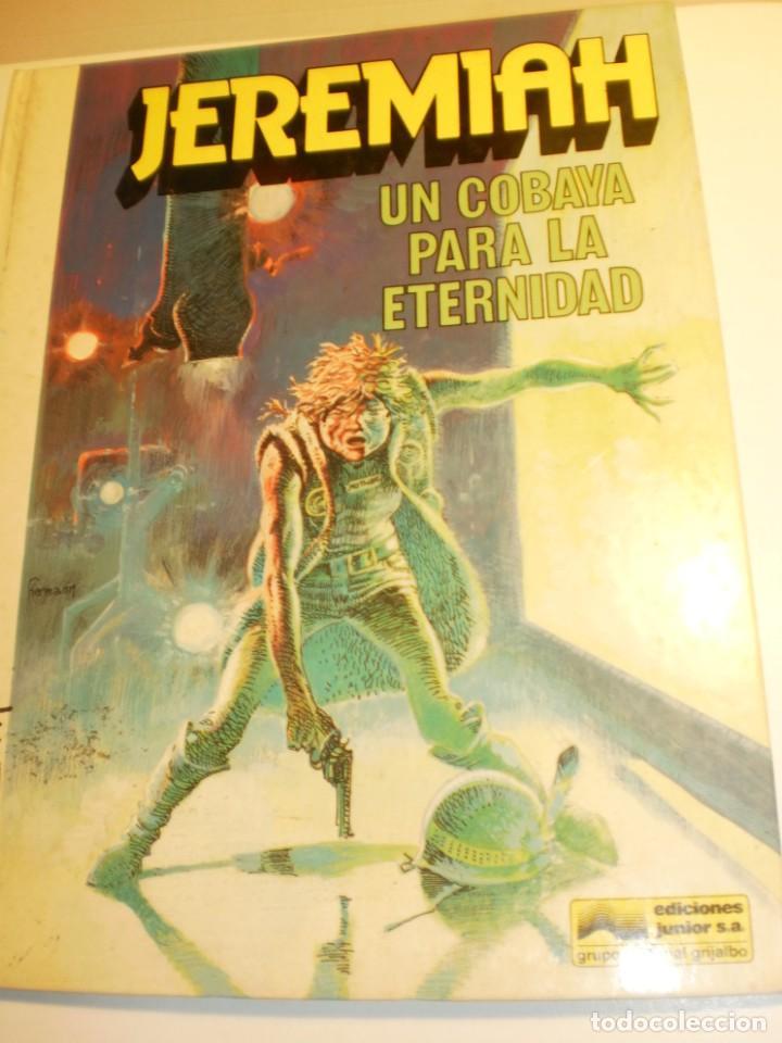 JEREMIAH 5 UNA COBAVA PARA LA ETERNIDAD. GRIJALBO 1982 COLOR TAPA DURA (ESTADO NORMAL) (Tebeos y Comics - Grijalbo - Jeremiah)